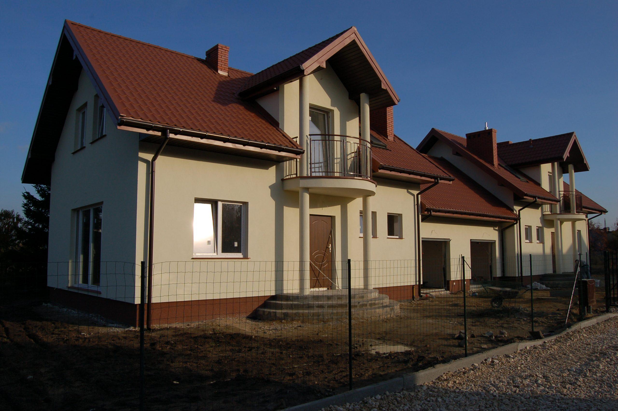Brwinów dom wybudowany do stanu deweloperskiego