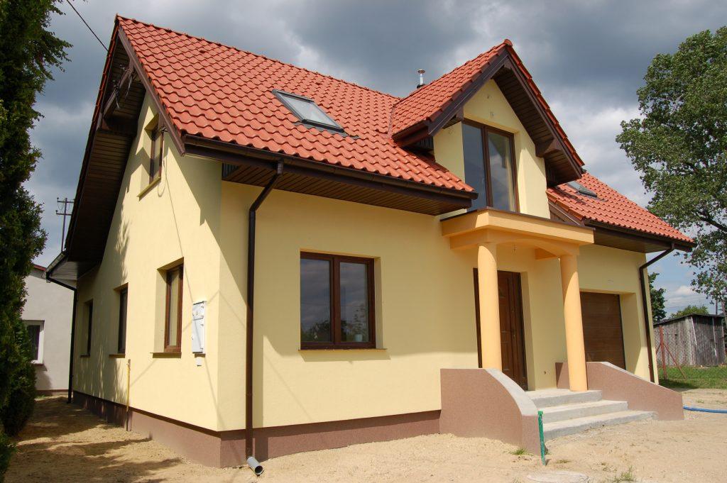 Nadrzyn -budowa domu do stanu deweloperskiego