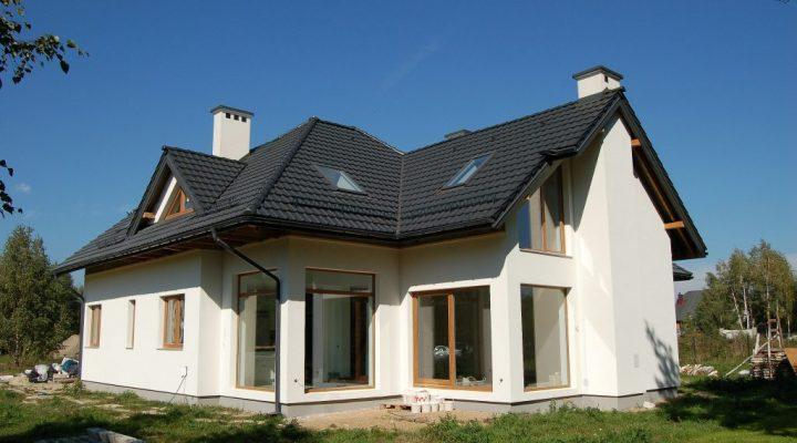 dom w stanie developerskim - budowa cdevelopment okolice Warszawy