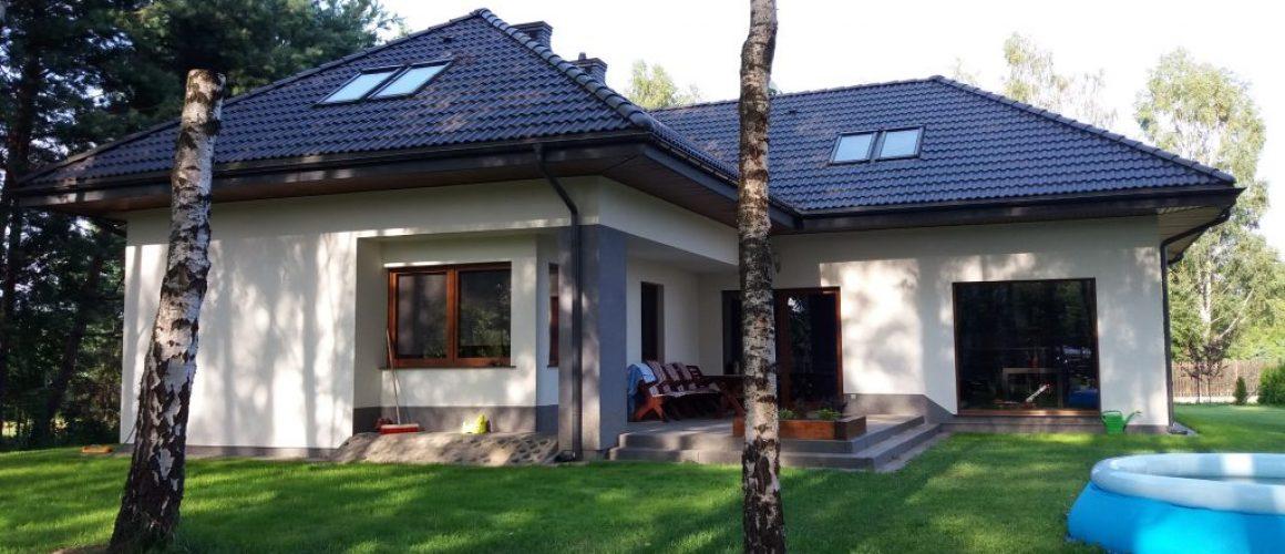 Jasny dom jednorodzinny w okolicach warszawy - budowa cdevelopment