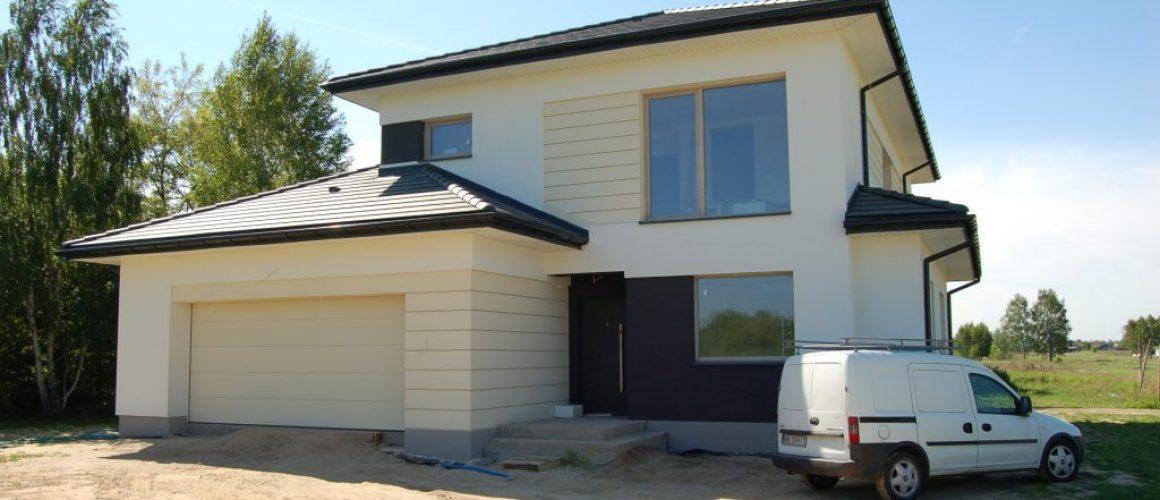 relizacja domu jednorodzinnego pod Warszawą w stanie deweloperskim cdevelopment